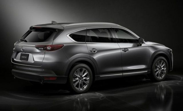 2020 Mazda CX-7 rear