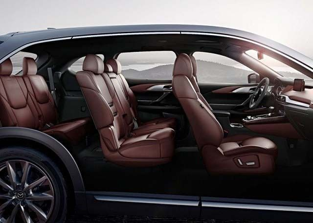2020 Mazda CX-7 seats