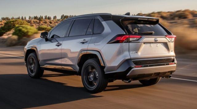 2020 Toyota RAV4 Hybrid rear