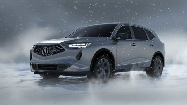 2021 Acura MDX front