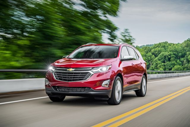 2021 Chevy Equinox exterior view