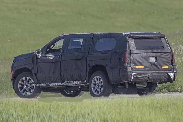 2021 Chevy Suburban rear