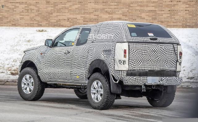 2021 Ford Bronco rear