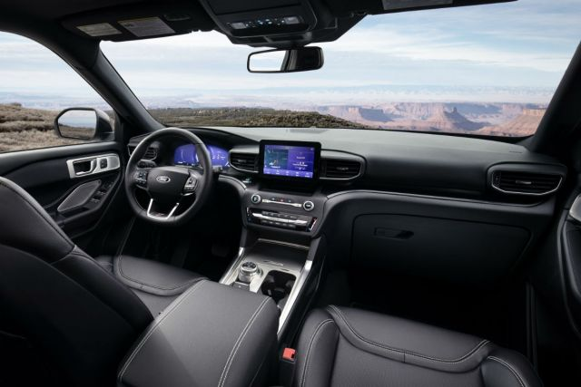 2021 Ford Explorer ST interior
