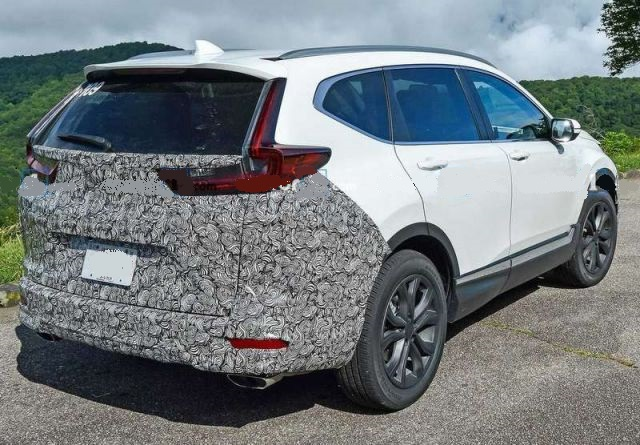 2021 Honda CR-V rear