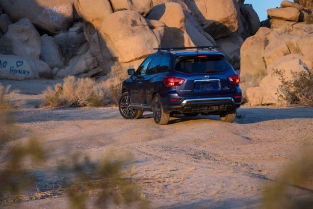 2021 Nissan Pathfinder rear