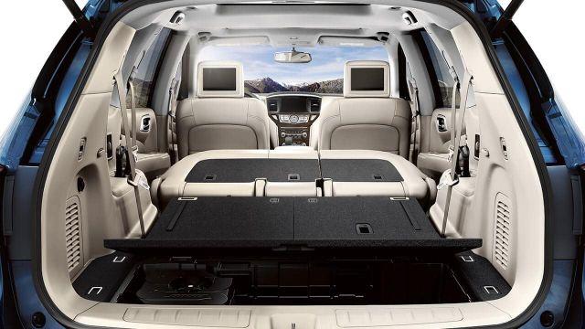 2021 Nissan Pathfinder trunk