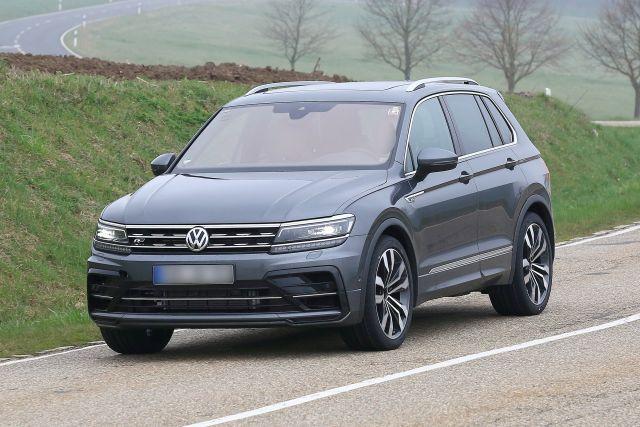 2021 VW Tiguan News, R-Model Spied - 2020 / 2021 New SUV