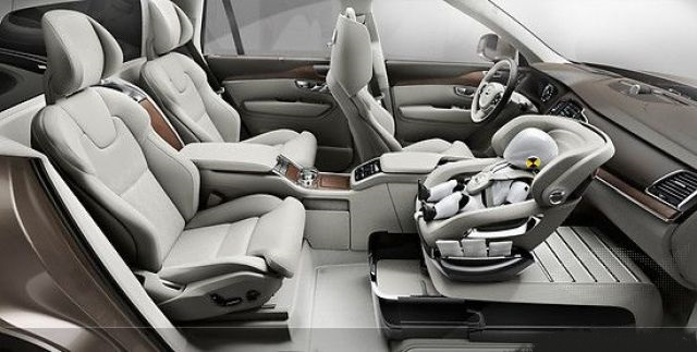2021 Volvo XC90 child safety