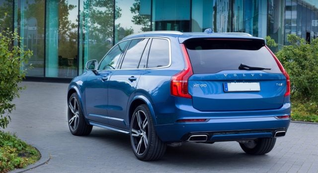 2021 Volvo XC90 rear