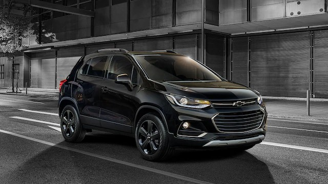2021 Chevy Trax midnight edition