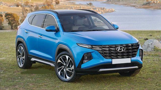 2021 Hyundai Tucson rendering