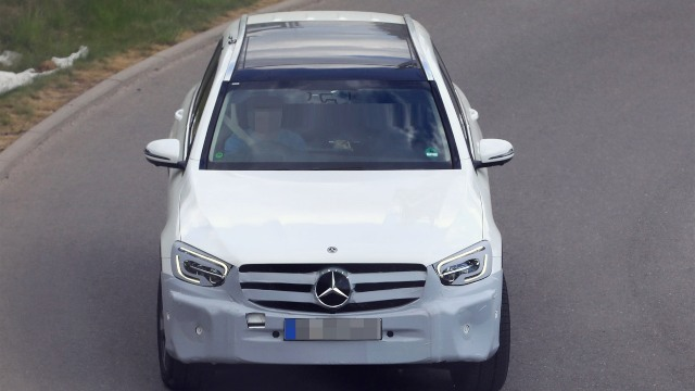 2021 Mercedes-Benz GLC spy shots