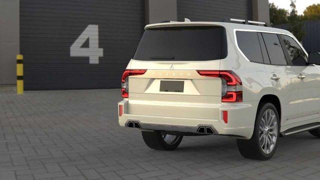 2021 Mitsubishi Pajero rear