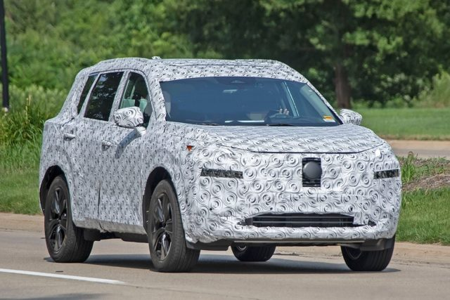 2021 Nissan X-Trail front look