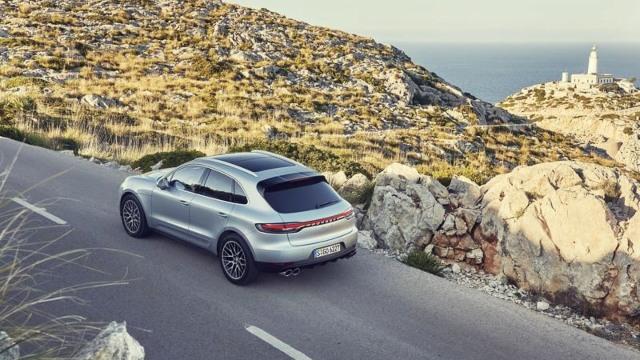 2021 Porsche Macan facelift