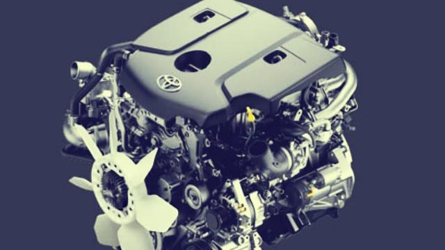2021 Toyota Fortuner engine