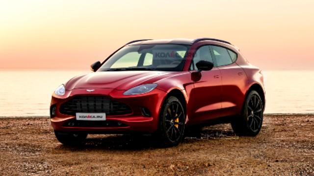 2021 Aston Martin DBX rendering