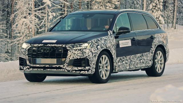 2021 Audi Q7 spy shots