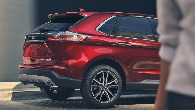2021 Ford Edge colors