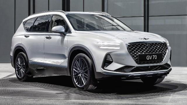 2021 Genesis GV70 exterior