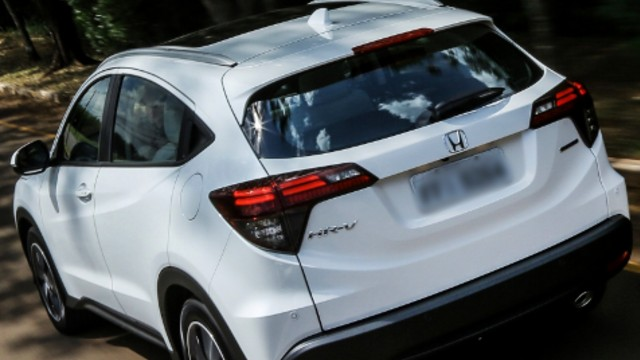 2021 Honda HR-V rear
