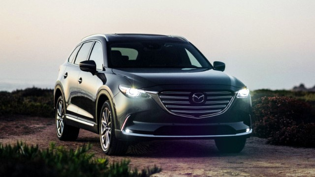 2021 Mazda CX-9 facelift