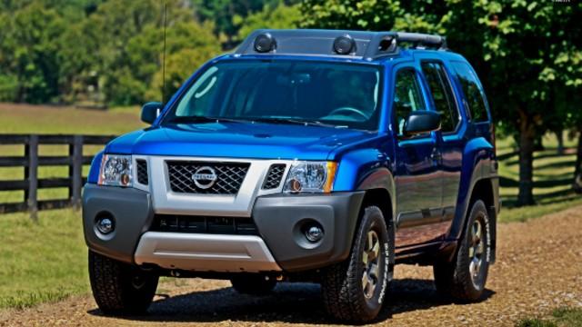 2021 Nissan Xterra exterior