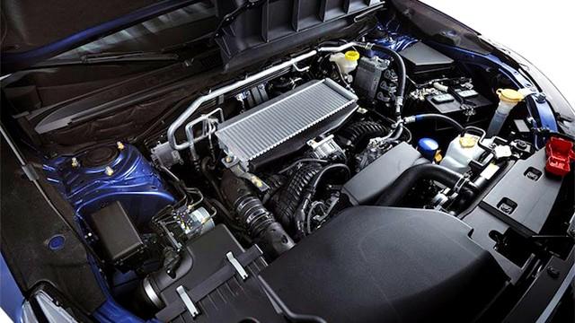 2021 Subaru Ascent engine