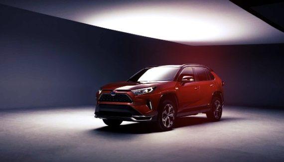 2021 Toyota RAV4 PHEV teaser