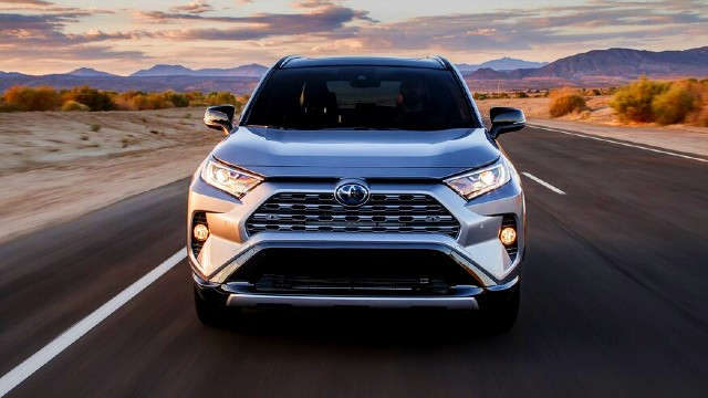 2021 Toyota RAV4 exterior