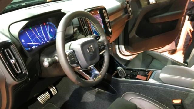 2021 Volvo XC40 Recharge interior