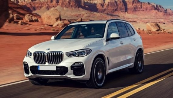 2021 bmw X5 front