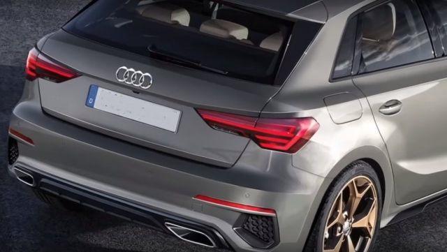 2021 Audi Q3 rear look