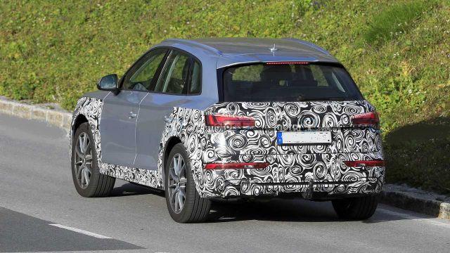 2021 Audi Q5 rear