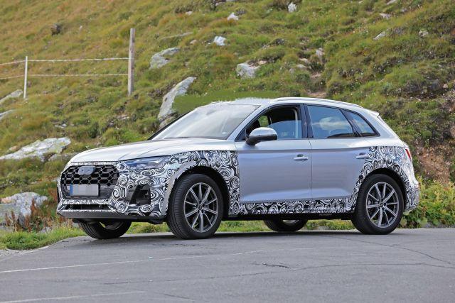 2021 Audi Q5 side
