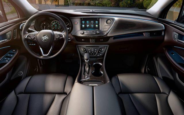 2021 Buick Envision interior