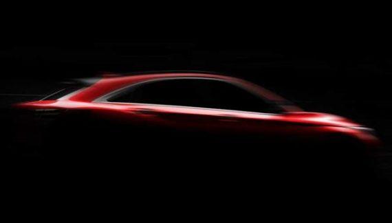 2021 Infiniti QX55 teaser