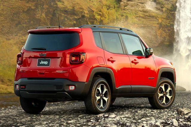 2021 Jeep Renegade rear