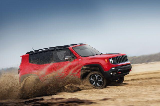 2021 Jeep Renegade side