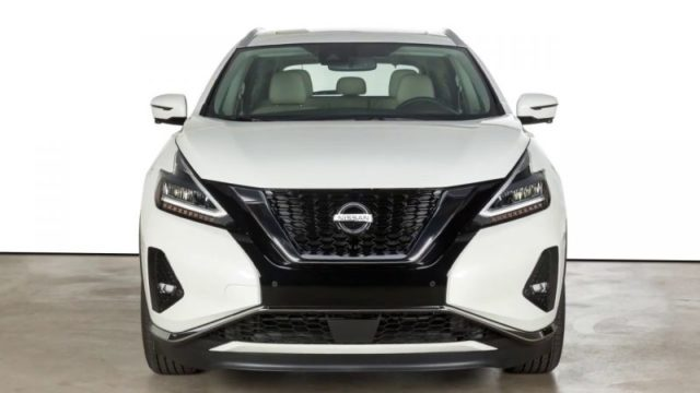 2021 Nissan Murano front