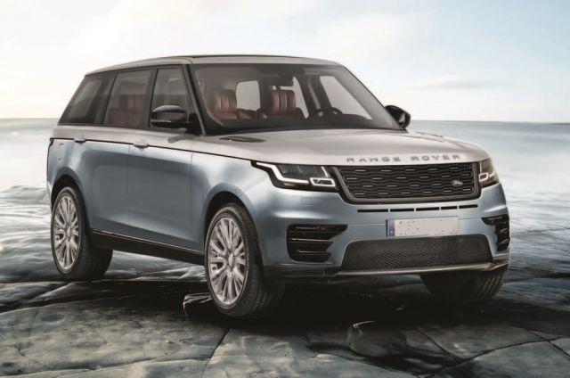 2021 Range Rover Sport exterior