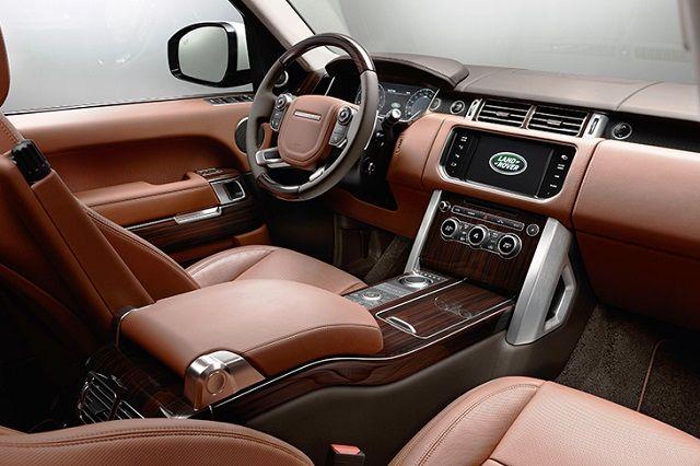 2021 Range Rover Sport interior