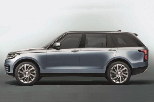 2021 Range Rover Sport side