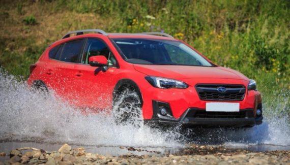 2021 Subaru Crosstrek front