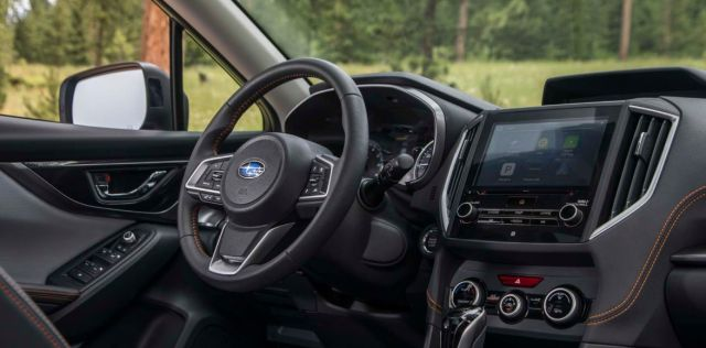 2021 Subaru Crosstrek interior