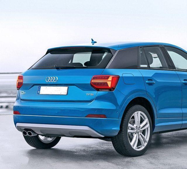 2021 Audi Q1 rear