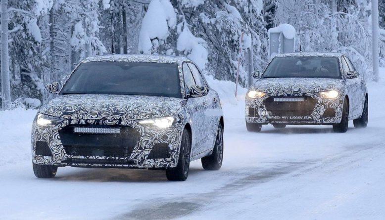 2021 Audi Q1 spy photo