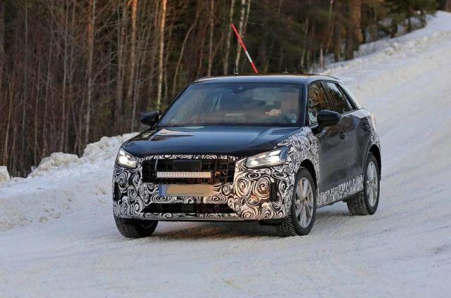 2021 Audi Q2 front