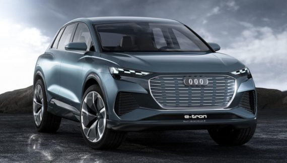 2021 Audi Q4 e-Tron front